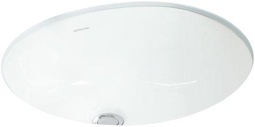 (STERLING 442040-0 Wescott Undercounter Lavatory, White)