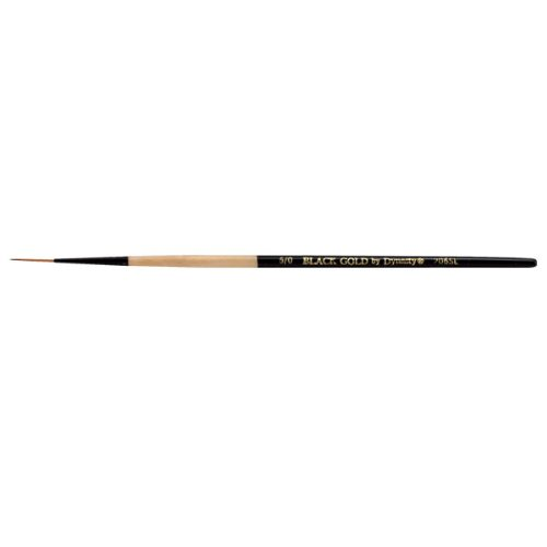 Black Gold by Dynasty Series 206SL Script Liner - Size 5/0