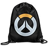 Overwatch Logo Drawstring Bags Sports Backpack Sport Bag For Men & Women Backpack For Teens Review