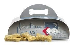 (Two Pack) Bedtime Bones Are an Organic Dog Bone Treat with Chamomile to Help Your Dog Sleep