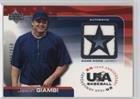 Jason Giambi #496/850 (Baseball Card) 2004 Upper Deck USA Baseball 25-Year Anniversary - Jerseys #GU-JG