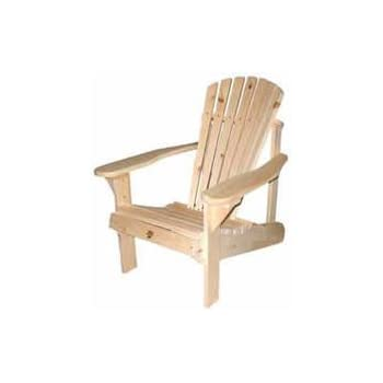 Lovely Bear Chair BC101P Pine Muskoka Chair Kit