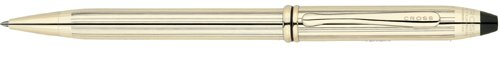 Cross Townsend, 10 Karat Gold Filled/Rolled Gold, Ballpoint Pen (Cross Townsend Selectip Rolling Ball)