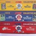 1988, 1989, 1990 Score Factory Baseball Set Lot-1 of Each ()
