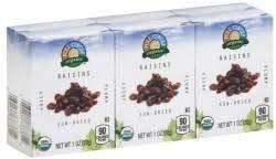 Full Circle, Organic Sun-dried Raisins (Pack of 24)