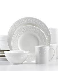 [Martha Stewart Collection 16-piece Gatewood Dinnerware Set; Service for 4] (Martha Stewart Dish)