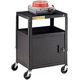 Bretford Top Shelf - Bretford CA2642 Adjustable Cart with Cabinet