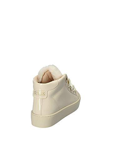 Paf12 Donna Guess Beige Flurl3 Sneakers w18wfq0X