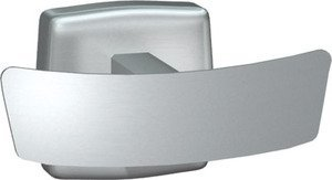 ASI 7345-B Double Robe Hook, Bright Finish by ASI