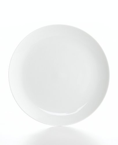 The Cellar Dinnerware, Whiteware Coupe Dinner Plate by The Cellar (Coupe Whiteware)