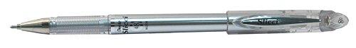 - Pentel Slicci Metallic Gel Pen Silver (BG208-Z)