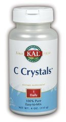 Kal Crystal - KAL Vitamin C Crystals Unflavored Tablets, 1250 mg, 4 Ounce by Kal