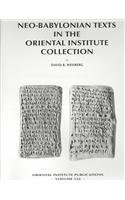 Neo-Babylonian Texts in the Oriental Institute Collection (Oriental Institute Publications) (Akkadian Edition) ebook