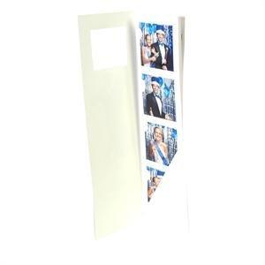 2x8 4-Photo Strip Photo Folder - 100 Pack by Neil Enterprises