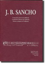 Descargar Libro J. B.sancho. Compositor Pioner De Califòrnia. Compositor Pionero De California. Pioneer Composer Of California Antoni Pizà