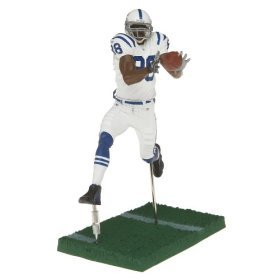 NFL Series 12 Figure: Marvin Harrison Indianapolis Colts White Jersey