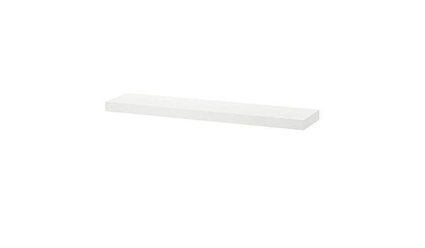 Juego de 2 estantes de pared IKEA LACK blanco (26 x 110 cm ...