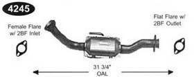Catco 4245 Federal / EPA Catalytic Converter - Direct Fit