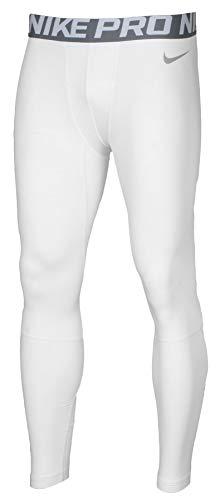 (Nike Pro Combat Mens Hyperwarm Drifit Compression Pants White Size XL)