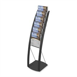 DEF693104 - Deflect-o Contemporary Literature Floor Stand by Deflecto Corporation