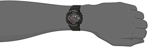 Casio G-Shock S-Series Step Tracker Black Watch GMAS130VC-1A