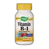 Nature's Way Vitamin B-1 100 Mg - 100 Capsules ( 4-Pack)