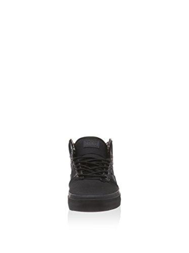 Vans Bedford Tiger Clash Negro / Negro Mid Top Sneakers Para Hombre (6.5 Hombres)