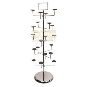 db9222c538d01a Amazon.com: Revolving 10 Tier 20 Hat Hanger Display Retail Rack Tree ...
