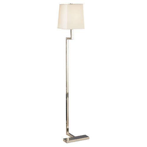 - Mill & Mason Adams Antique Silver One-Light Floor Lamp