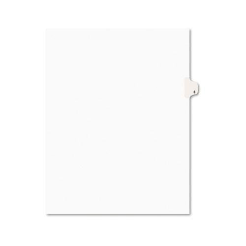 Numeric Legal Tabs - Avery 11918 Numeric Divider,