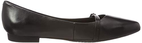 Tamaris 1 1 Mocassini 003 22 3 Leather black 24234 Nero Donna qrSwRCq