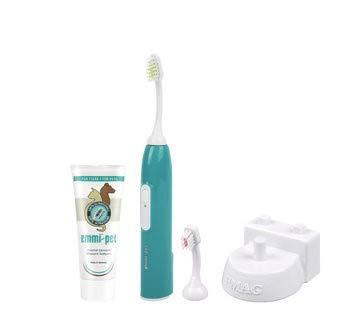 Emmi-Pet Cepillo de dientes de ultrasonidos para mascotas: Amazon.es: Productos para mascotas