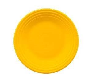 Homer Laughlin 465-342 Fiesta 9'' Luncheon Plate, Daffodil