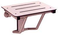 Bobrick B-5191 Shower Seat, Folding - Solid Phenolic Ivory