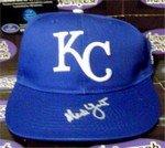 - Autograph Warehouse 291186 2015 Ned Yost Autographed Hat - Kansas City Royals