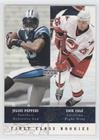 Julius Peppers; Eric Cole (Trading Card) 2002-03 Upper Deck UD Superstars - [Base] #257