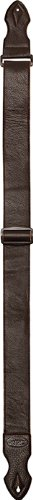 Onori USM-L2-BRN 2-Inch Glove Leather Guitar Strap with Dacron Backing - Brown