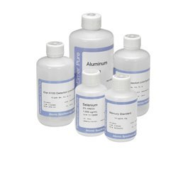 PerkinElmer N9303799 Inorganic Aqueous Single Silicon (Si) Element Pure Grade Standard Solution for AA and ICP-OES, 1,000µg/mL, H2O, 125mL