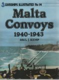 Front cover for the book Malta Convoys by Paul Kemp
