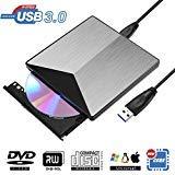 KILINEO External CD/DVD Drive,USB 3.0 DVD +/-RW
