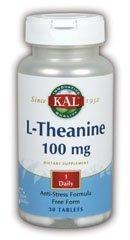 L-Theanine 30 Tabs - 4