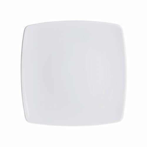 er/Dessert/Appetizer/Bread Plates Set, White Porcelain, Restaurant&Hotel Quality, size 7.4'' ()