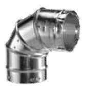 Dura Vent 6GVL90 6-Inch Adjustable 90 Degree Type B Gas Vent Elbow ()
