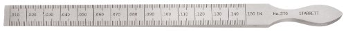 Starrett 270 7/16-Inch by 6-1/4-Inch Taper Gage Inch and Millimeter ()