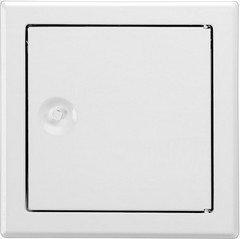 Upmann Softline Revi Door Sv 300x500–RAL9016Square Clasp, 20589