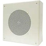 Valcom V-1920C One Way Self Amplified Ceiling Speaker with Square Grille by Valcom