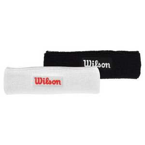 Wilson Headband  black   Amazon.co.uk  Clothing 31ac421b227