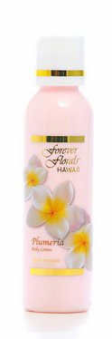 Forever Scented Body Lotion (Plumeria Body Lotion 2 bottles 4oz Each Forever Florals Hawaii and 1 Bar of Plumeria Face & Body soap and 1 Bar of Noni Facial soap)