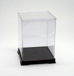 [Collection] transparent plastic case figure doll case Case W 12 x D 12 x H 16 (cm) (japan import) by Octagon