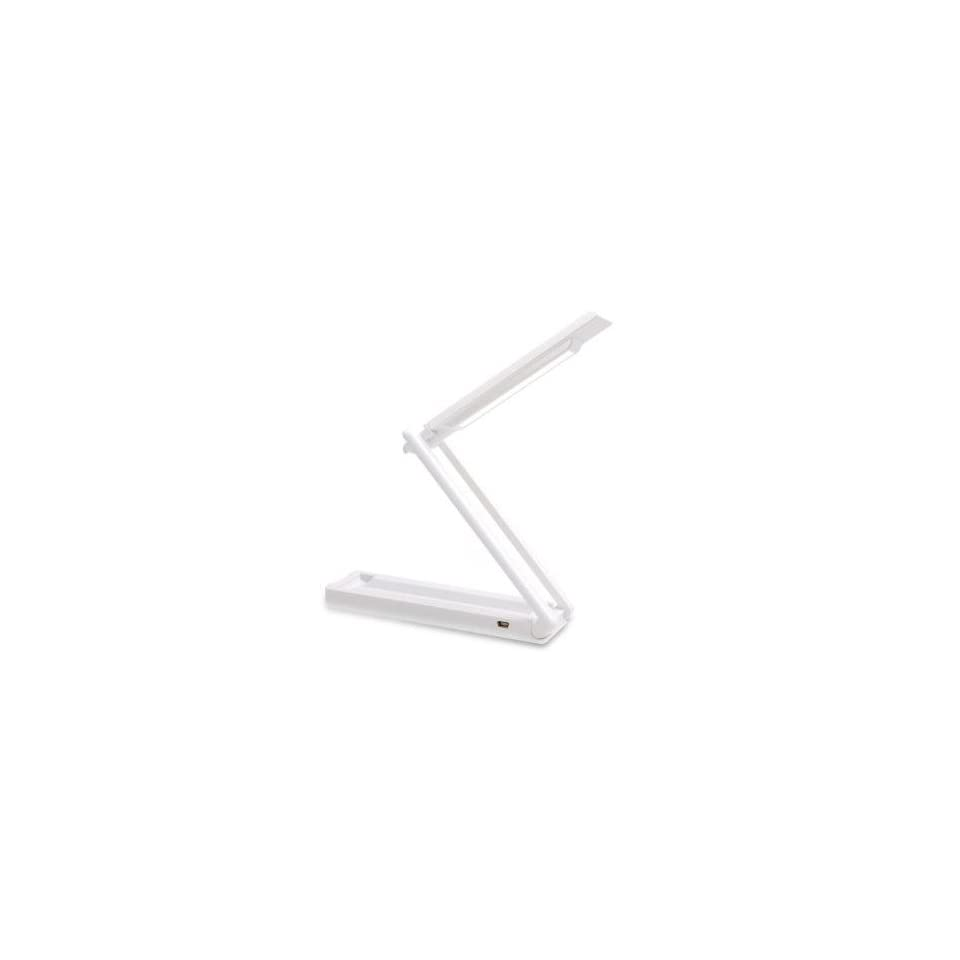 Champtek Foldable Mini USB LED Lamp White